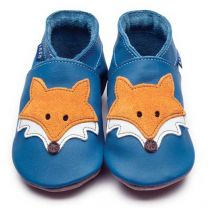 Inch Blue babyslofje Mr Fox blauw