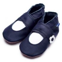 Inch Blue slofje mary jane navy